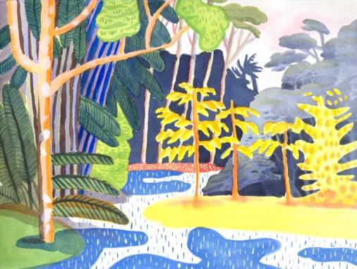 Jennifer Tyers Malaysia-12 Watercolour 2015
