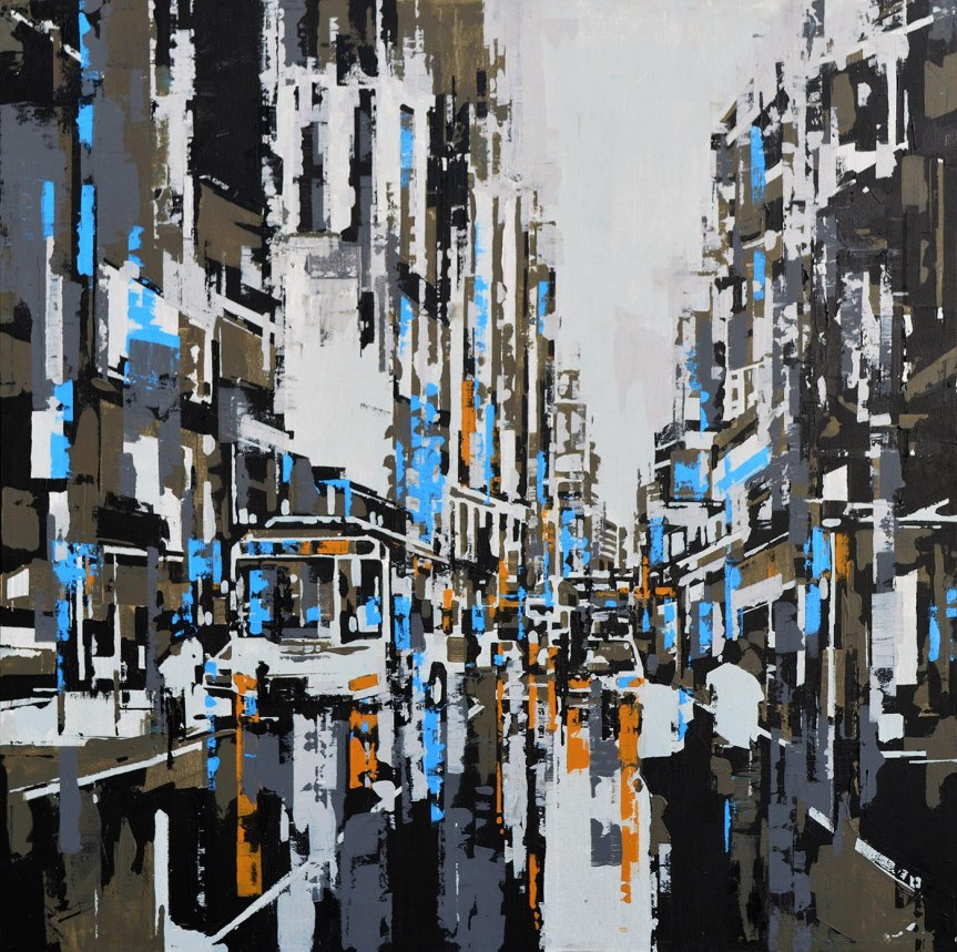 KL_In_Olive_Reloaded_36x36_AcrylicOnCanvas_2016